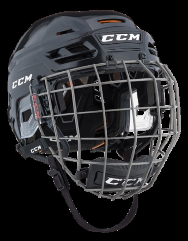 CCM HOCKEY CCM Tacks 710 Hockey Helmet Combo