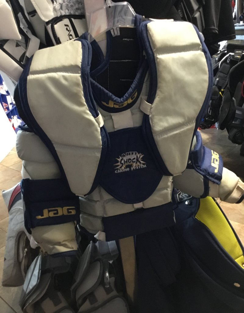 USED JAG JR LG GOALIE CHEST PROTECTOR