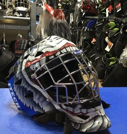 USED GOALIE MASK ITECH