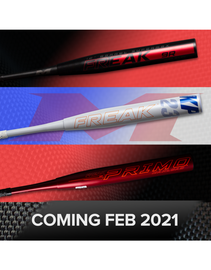 MIKEN 2021 Miken Freak Primo Maxload 14in. 2PC USSSA Slowpitch Softball Bat MP21MU