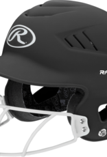 RAWLINGS Coolflo High School/College Batting Helmet With Cage