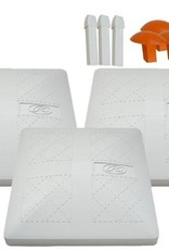 RAWLINGS Rawlings Safe Release Base - 3 Bases Included
