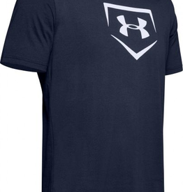 UNDER ARMOUR Boys' UA Graphic Plate Baseball T-Shirt