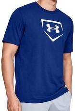 UNDER ARMOUR Boys' UA Graphic Plate Baseball T-Shirt