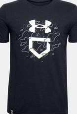 UNDER ARMOUR Boys' UA Camo Lockup Graphic T-Shirt