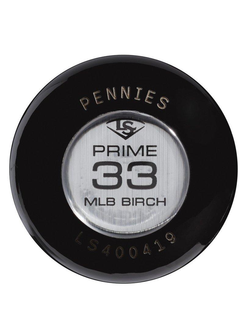 LOUISVILLE LS MLB Prime Birch M110 Pennies Baseball Bat