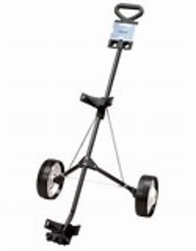 GOLF WORKS Deluxe Steel 2-Wheel Push Cart