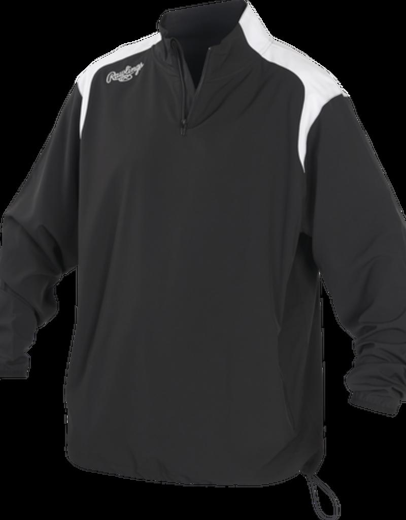 RAWLINGS Rawlings Long Sleeve Quarter-Zip Jacket