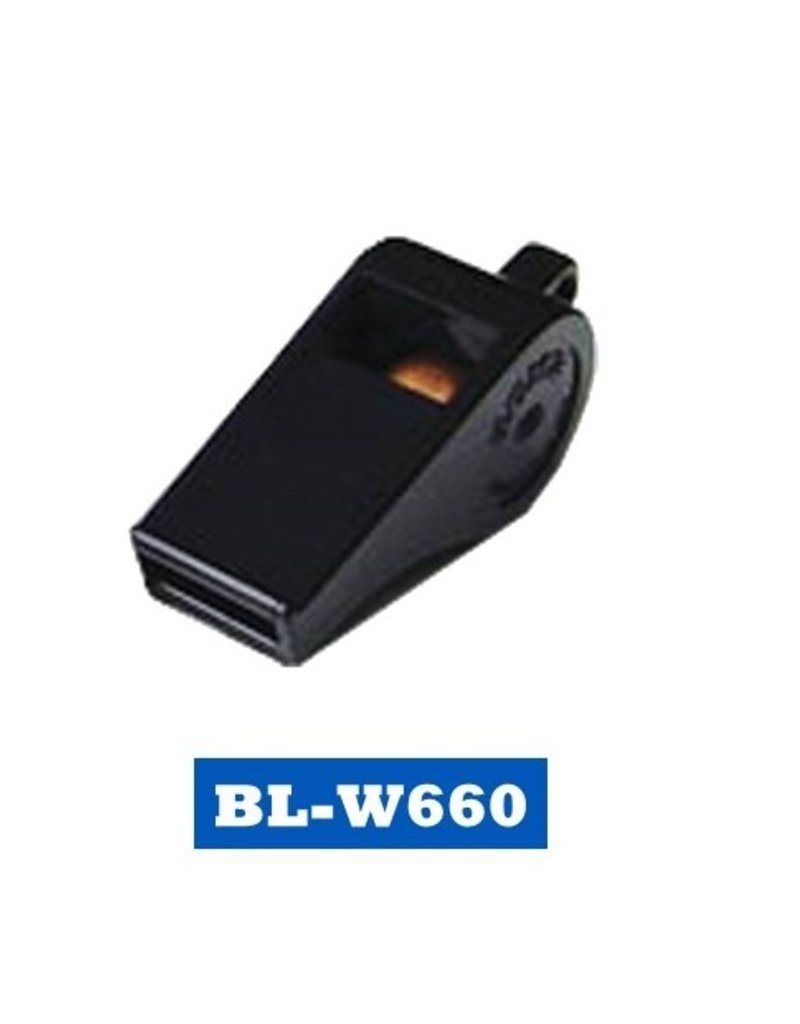 Plastic Whistle with Square Mouth Piece
