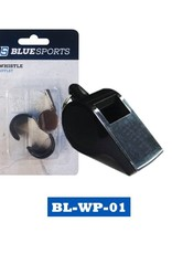Blue Sports Large Whistle with Laynard