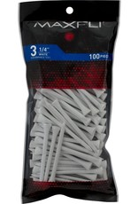 Maxfli 3 1/4'' Golf Tees - 100 Pack