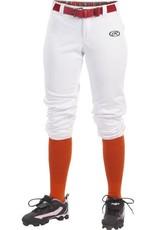 RAWLINGS Rawlings Girl's Launch Low Rise Fastpitch Softball Pants