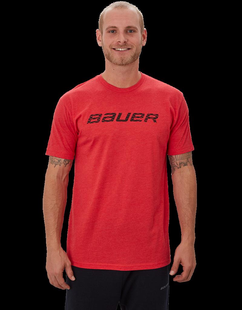 Bauer Hockey Bauer Graphic Short Sleeve Adult Crew Tee Shirt