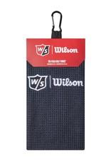 WILSON Wilson Staff Microfiber Trifold Towel-Black