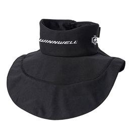 Winnwell Premium Neck Guard Collar With Bib - Senior