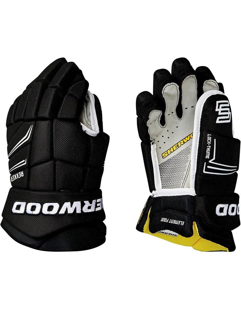 SHERWOOD Sherwood REKKER Element 4 JR Hockey Gloves