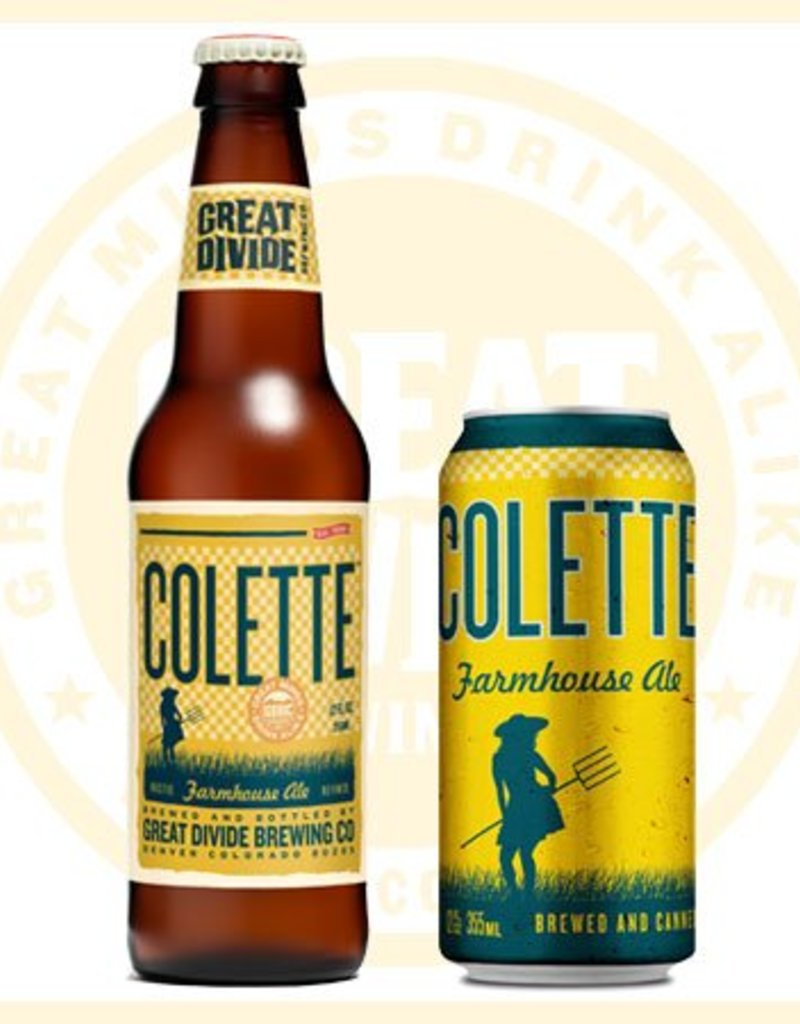 Great Divide Colette 12oz 6 Pack