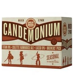 Great Divide Candemonium Mixed 12Pack 12oz Cans