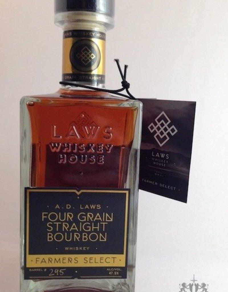 Laws Farmers Select Four Grain Straight Bourbon 750mL