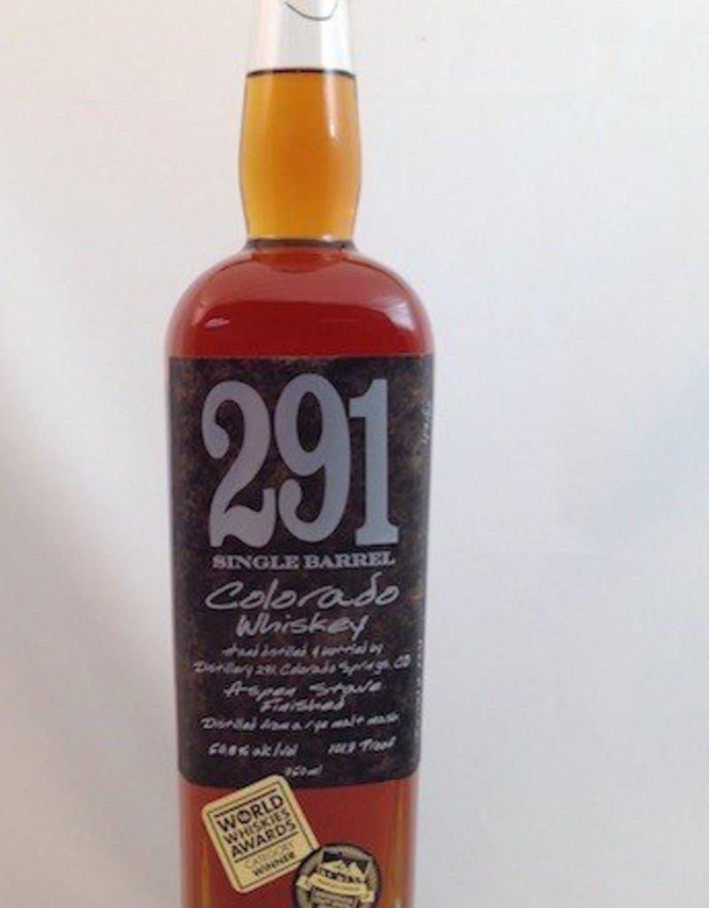 Distillery 291 Colorado Whiskey 750mL
