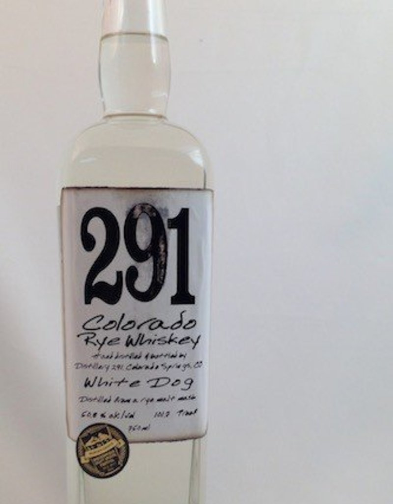 Distillery 291 Colorado Single Barrel Rye Whiskey 750mL