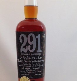 Distillery 291 Single Barrel Colorado Bourbon Whiskey 750ml