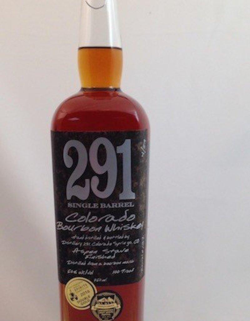Distillery 291 Single Barrel Colorado Bourbon Whiskey 750ml