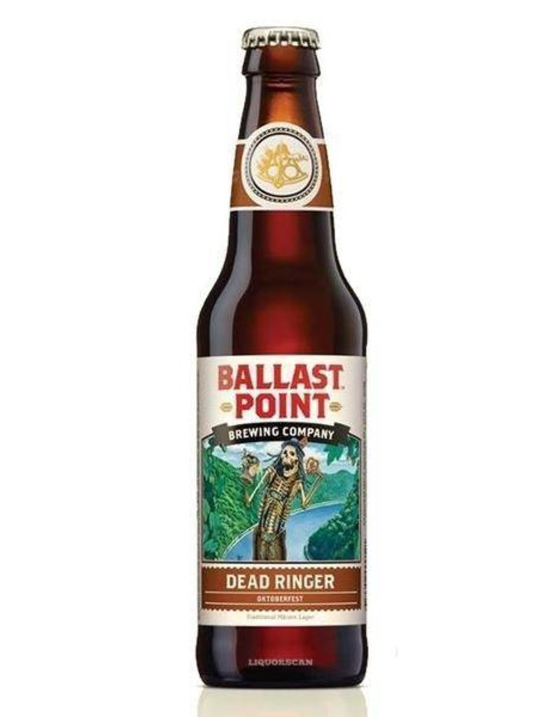 Ballast Point Dead Ringer Oktoberfest 12oz 6 Pack