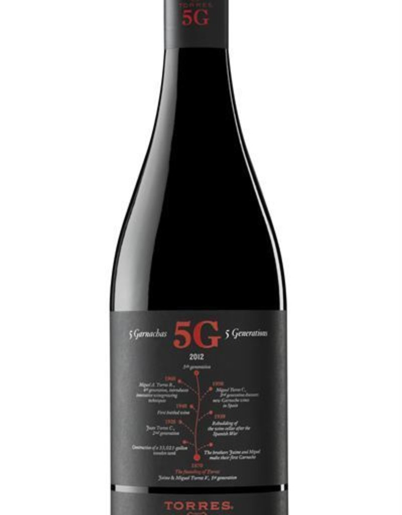 Torres 5G Cinco Garnachas 750mL