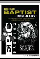 Epic Big Bad Bapt Imperial Stout 22oz