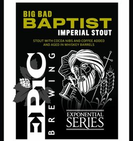 Epic Big Bad Bapt Imperial Stout 22oz