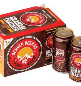 Denver Beer Graham Cracker Porter 12oz 6pk Can