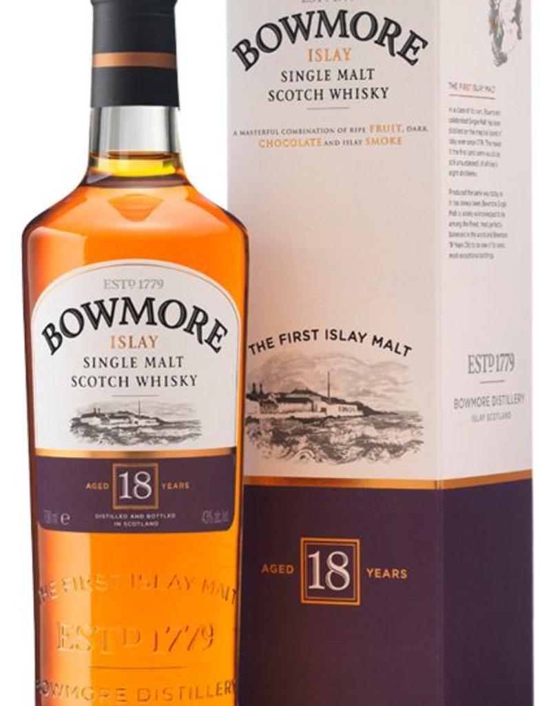 Bowmore Islay 18Yr Single Malt Scotch Whisky 750mL