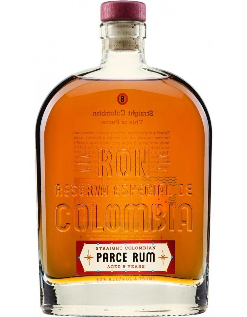 Parce 8 Year Colombian Rum 750mL