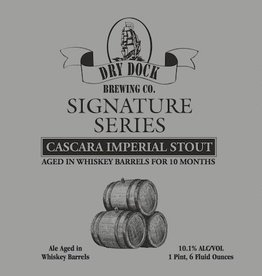 Dry Dock Signature Series Cascara Imp Stout 220z Bottle