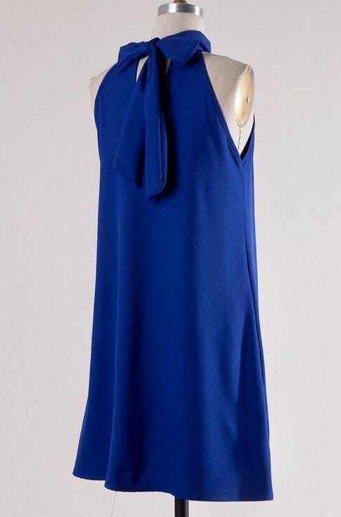 Lily Mock Neck Dress- More Colors