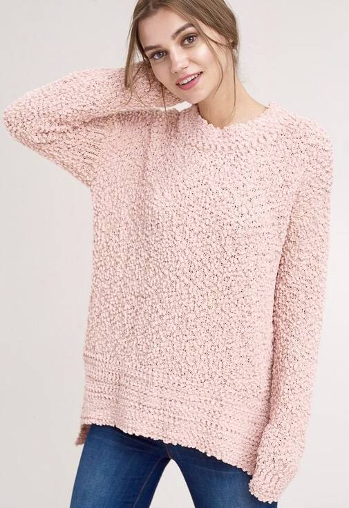 Popcorn Pullover Sweater- More Colors