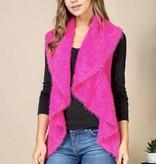 Hot Pink Sweater Vest- SALE ITEM