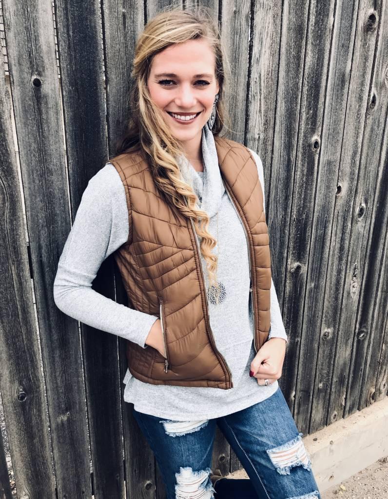 Reversible Puffer Vest- More Colors