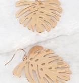 Kinsley Leaf Earrings- More Colors