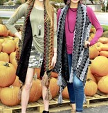 Multi Thread Knit Vest with Tassle Accent- More Colors