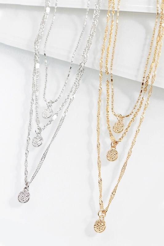 Lilia Layered Necklace- More Colors