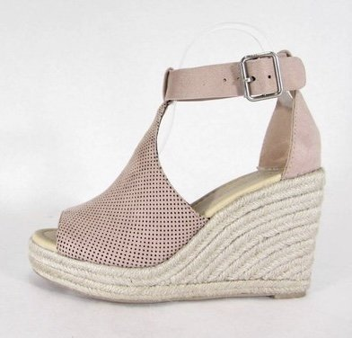 37f7de93c2b2 Peep-Toe Wedge Sandal - LilliesBoutique