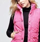 Pink Sherpa Reversible Vest