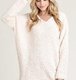 Rayna Popcorn Textured Sweater
