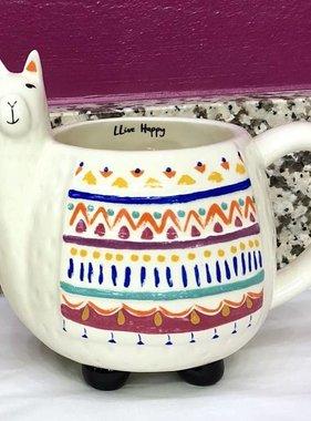 Lliive Happy Llama Mug