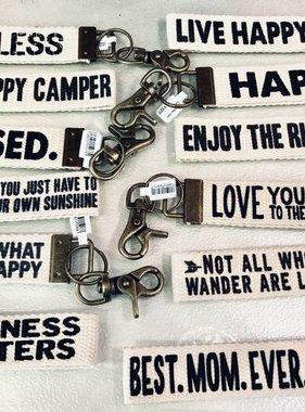 Canvas Key Chain