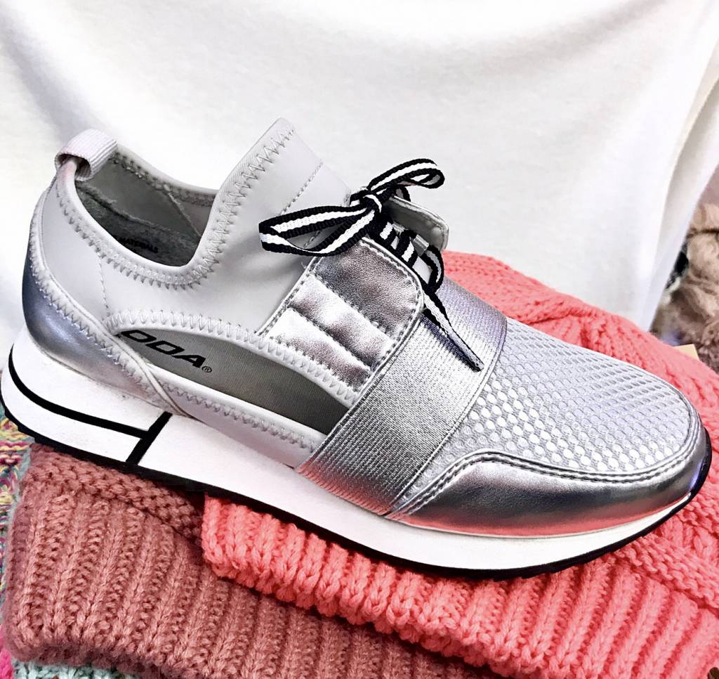 Izzy Sneaker Silver