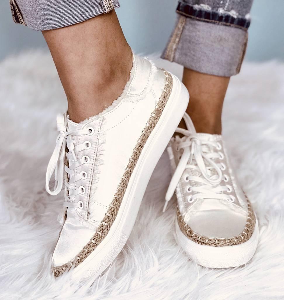 Jamie Sneaker Ivory