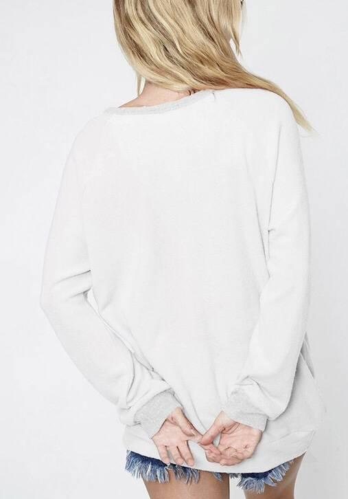 Black Striped Color Block Light Sweater